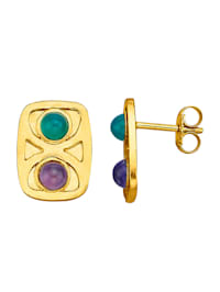 Boucles d'oreilles d'inspiration Art nouveau