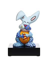 """Figur Romero Britto - """"Blue Rabbit"""""""