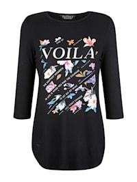 Shirt met bloemenprint voor