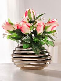 Rosengesteck in Vase