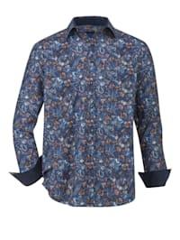 Overhemd met modieuze print