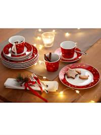 Kaffeservise i 18 deler -Winterapfel-