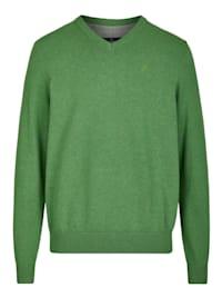 Basic Pullover aus reiner Baumwolle