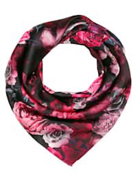 Sjaal met mooi bloemendessin
