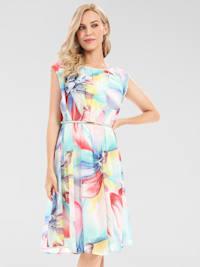 Sommerkleid mit Blüten-Print