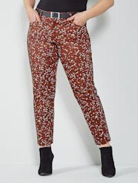 Kalhoty s vysokým podílem bavlny