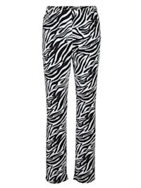 Bukse med animal print