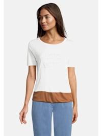 Oversize-Shirt mit Color Blocking
