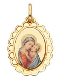Hanger Maria met kind