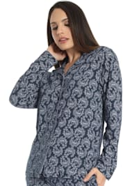 Pyjama Oberteil MISTY GARDEN