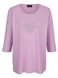 Shirt mit Rosenmotiv