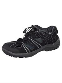 Sandales de trekking avec laçage rapide et bride auto-agrippante