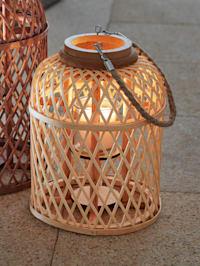 Lampe décorative 'Corbeille'