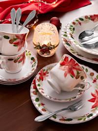 12-delig eetservies Kerstster