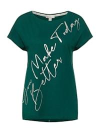 T-Shirt mit Folien Partprint