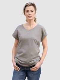 Shirt van comfortabele stof