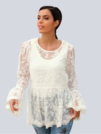 Strandshirt im Romantik-Stil