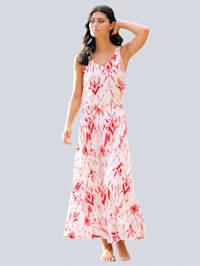 Robe de plage à imprimé batik
