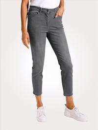 7/8-Jeans mit schmal zulaufendem Bein