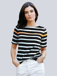 Shirt im Ringel-Dessin