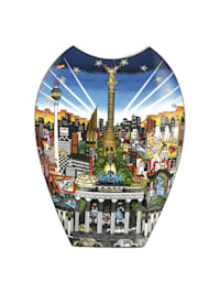 Goebel Vase Charles Fazzino - New York / Berlin