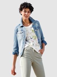 Džínová bunda v moderním seprání