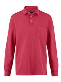 Poloshirt im Used-Look