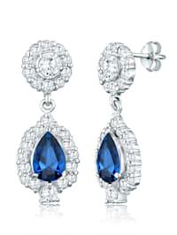 Ohrringe Tropfen Zirkonia Glamour Elegant 925 Silber