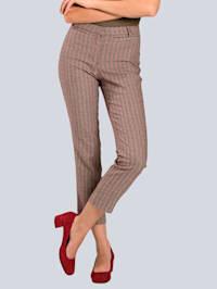 Ruutukuvioidut housut