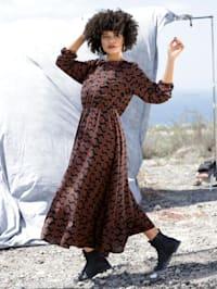Web-Kleid aus reiner Viskose