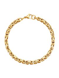 Bracelet maille royale, doré