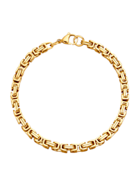 Königsarmband vergoldet