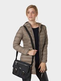 Schulter-Tasche aus Nylon