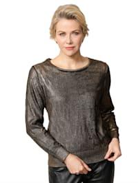 Pullover mit effektvollem Druck