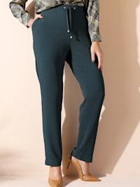 Pantalon en matière légère