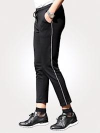 Jog kalhoty se štrasovou aplikací
