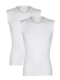 Mouwloos shirt van comfortabel materiaal