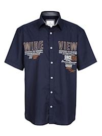 Overhemd met borduursel voor