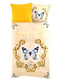 2-delige set bedlinnen Mariposa