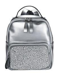 Rucksack in edlem Metallic-Look
