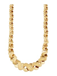 Infinity-Collier in Gelbgold