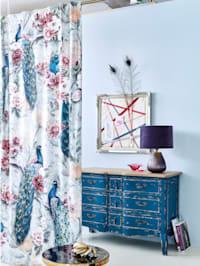 Vorhang-Set, 2-tlg., Samt