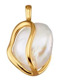 Pendentif avec 1 perle de Keshi