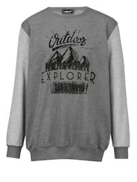 Sweatshirt met speciale pasvorm