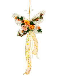 Schmetterling mit Blüten
