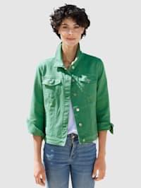 Džínsová bunda v modernom strihu