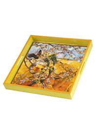 Tablett Louis Comfort Tiffany - Sittiche