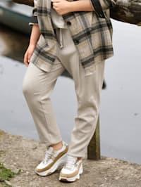 Jogpant in trendy enkellang model