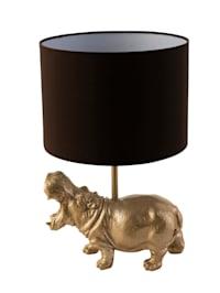 Tischleuchte, Nilpferd