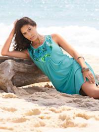 Strandkleid mit Pailletten